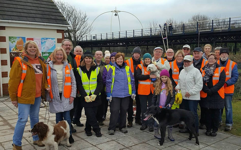 Rubbish Friends are Southport's Litter Heroes