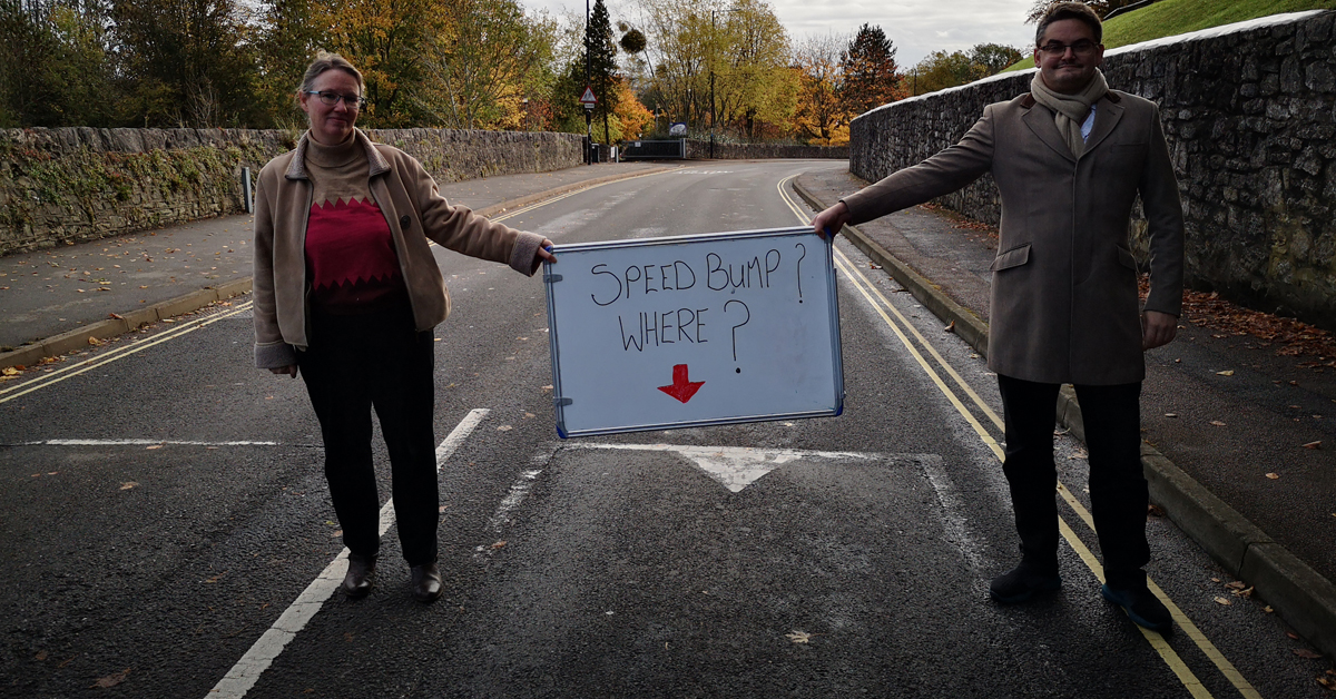 Better speed bumps for the Dell School