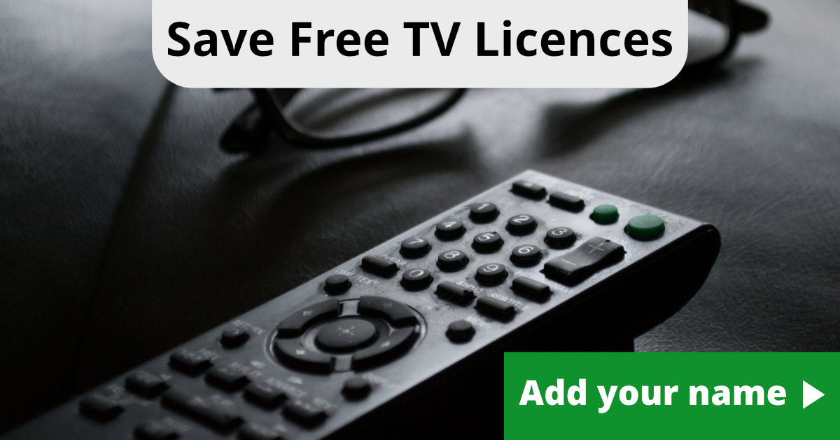 Save Free TV Licences