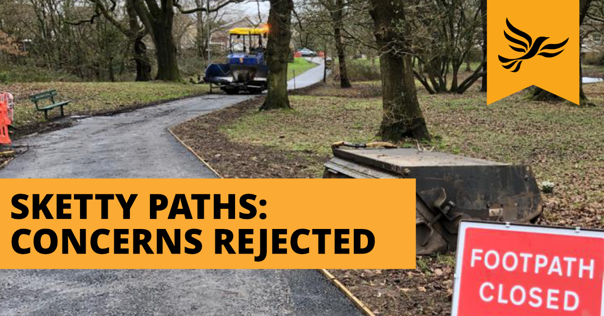 Clyne Valley Paths Update: Petition Rejected