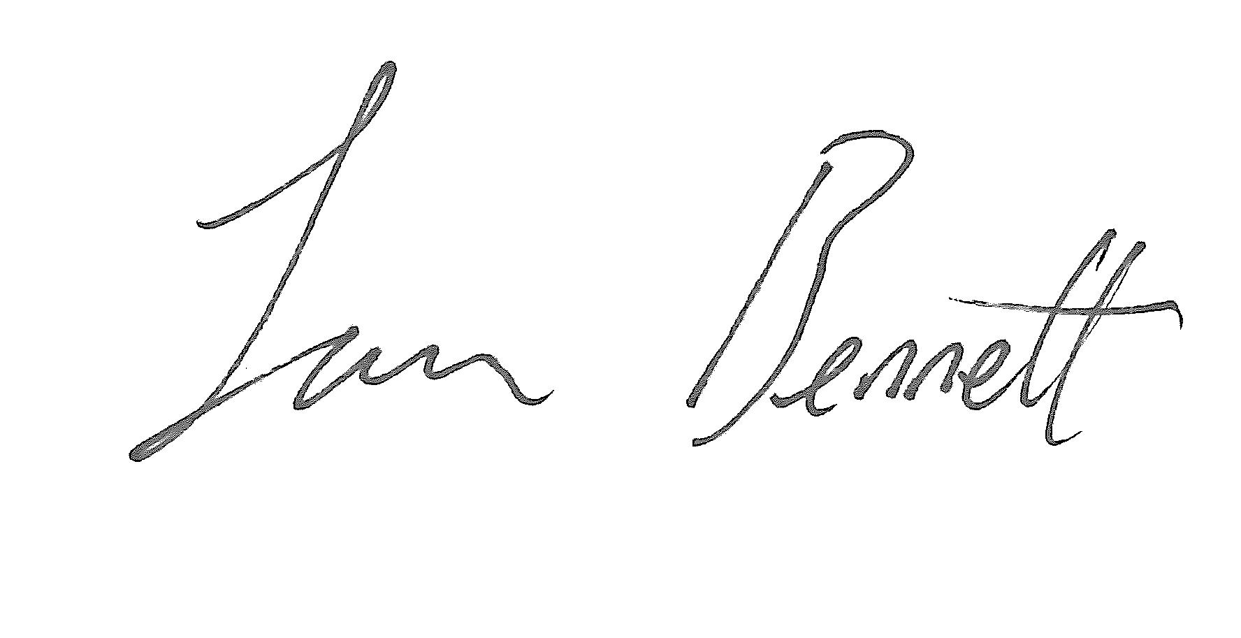 Sam Bennett Signature