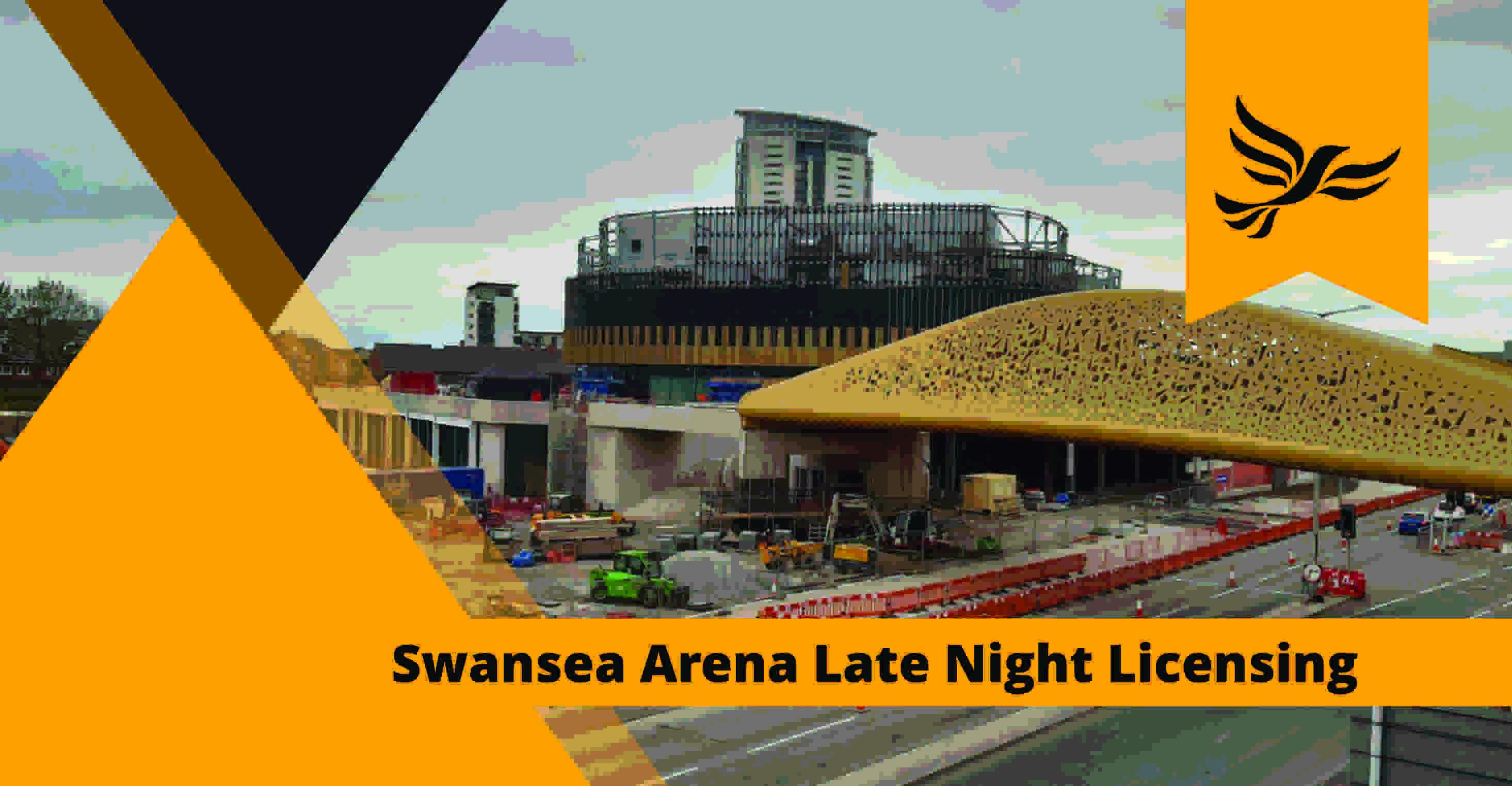 Swansea Arena Licence Concerns