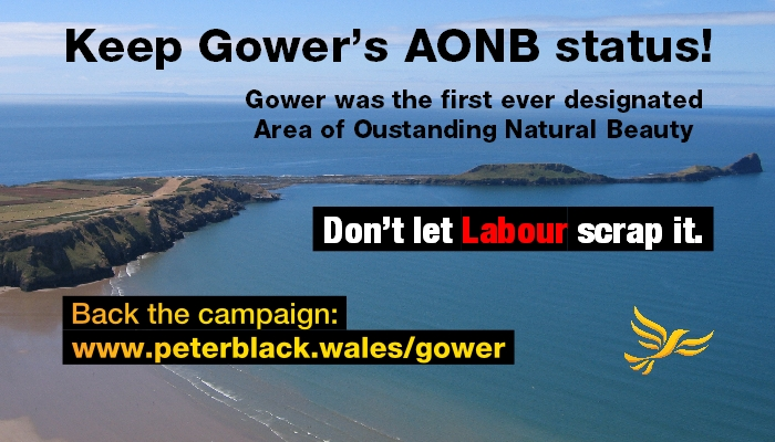 Don't let Labour abolish Gower's AONB status