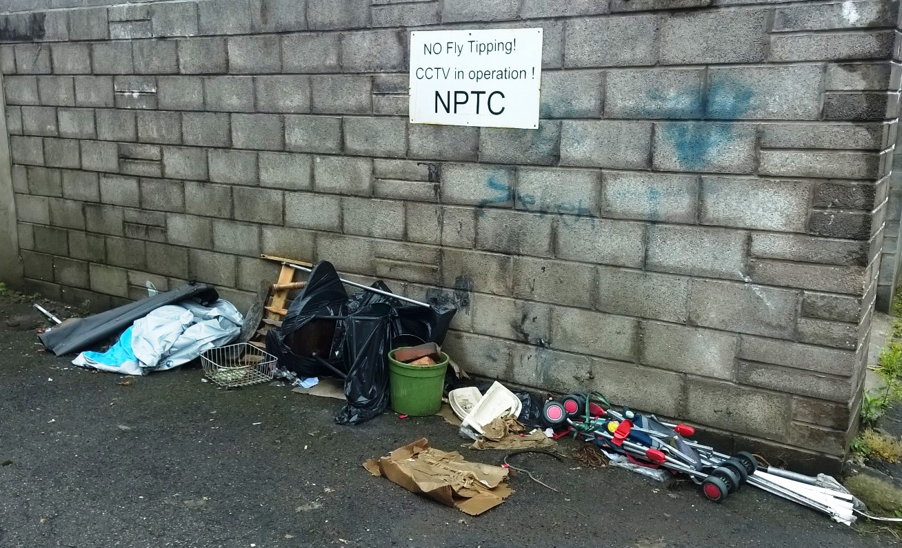 Clean up Neath Port Talbot Streets