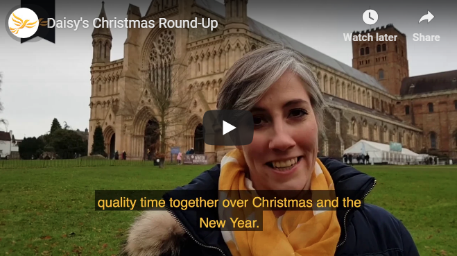 Merry Christmas from Daisy and the local Lib Dem team