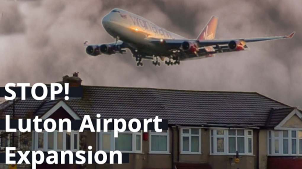 Stop Luton Airport expansion!