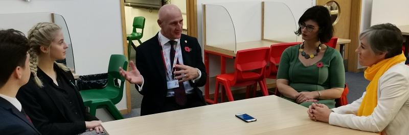 Layla Moran seeks pupils' views on future of education