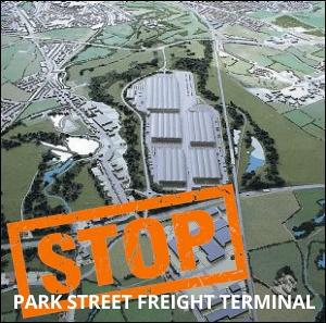 Stop Park Street Rail Depot