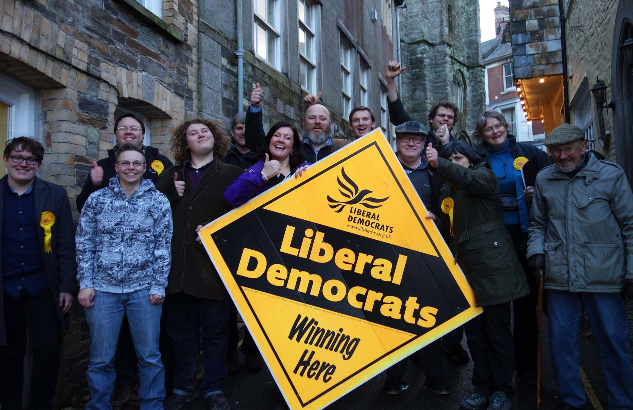 Lib Dems Win Launceston Central By-Election