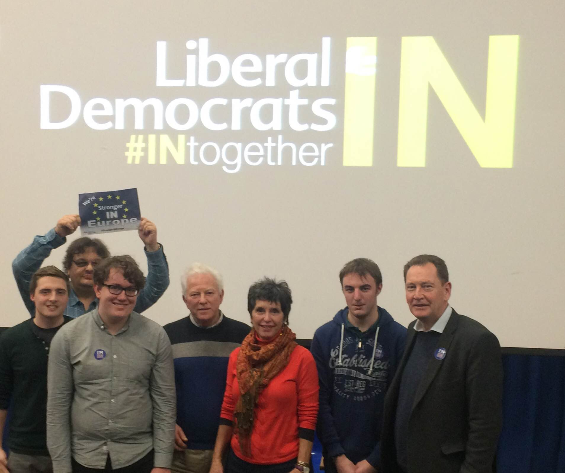 St Austell and Newquay Lib Dems attend South West #INtogether campaign launch