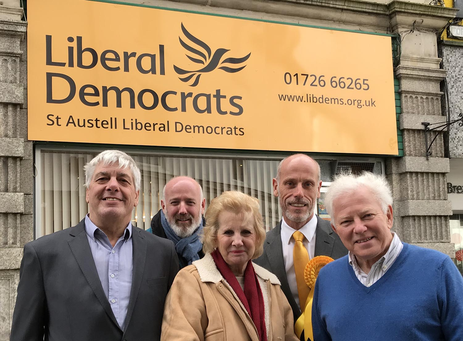 St Austell Lib Dems open new HQ