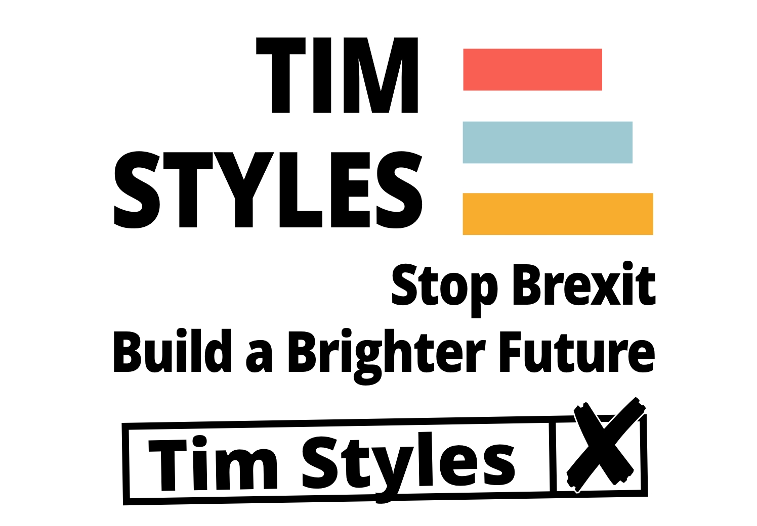 Tim steps up campaigning – just two weeks to go until polling day