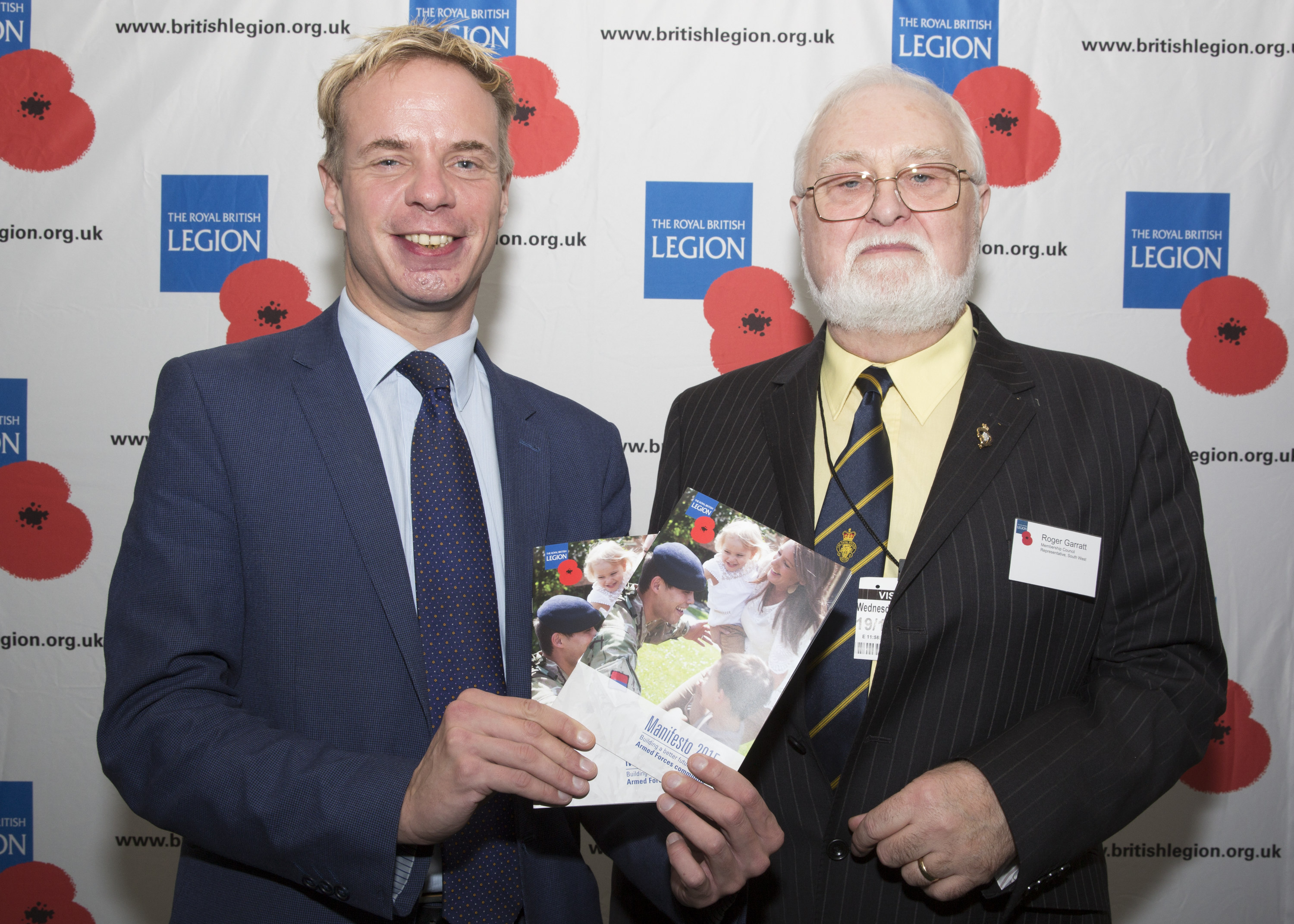Stephen Gilbert MP meets Area Manager from leading Armed Forces Charity