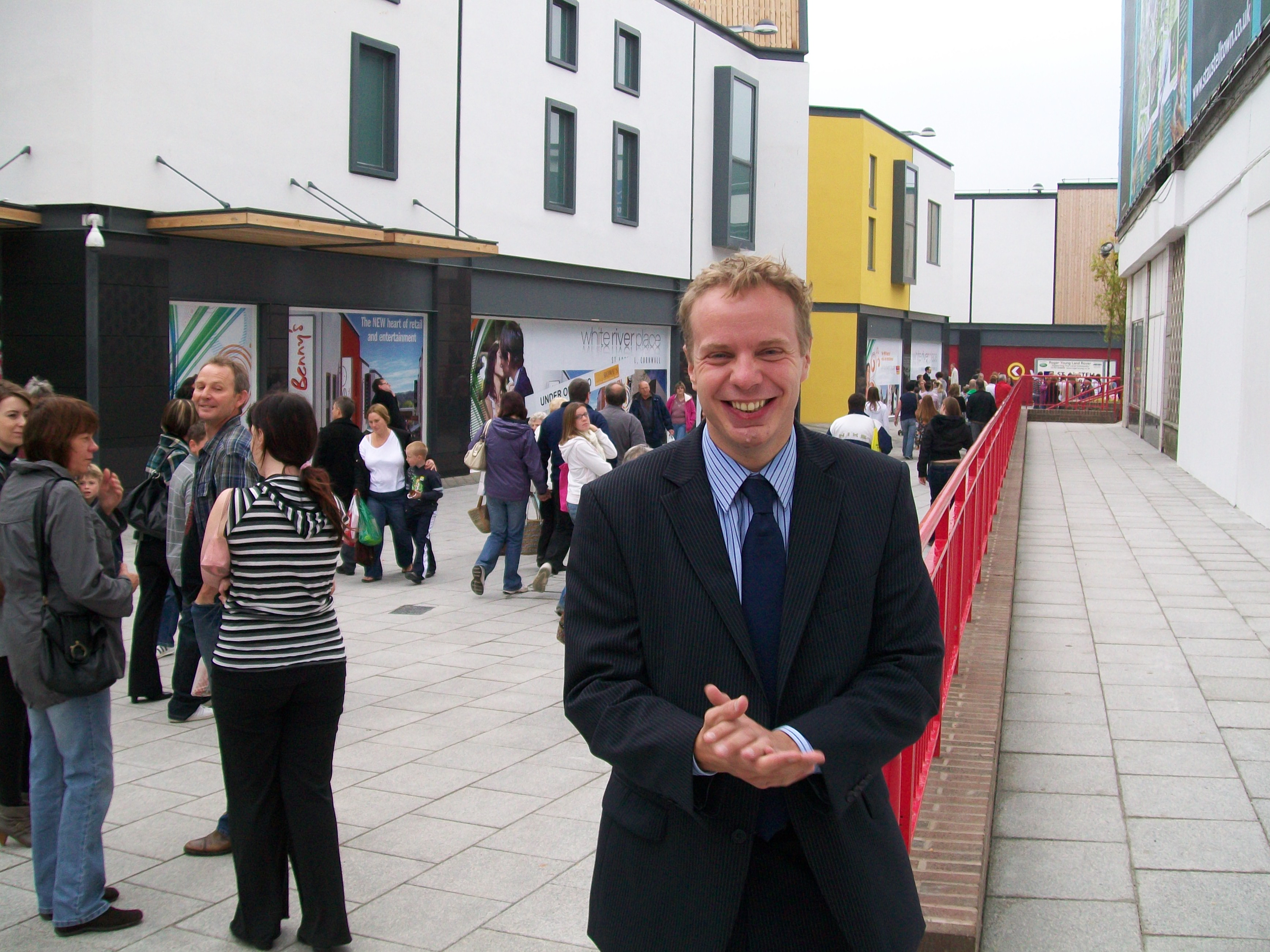 Stephen Gilbert Welcomes Publication of St Austell Retail Survey