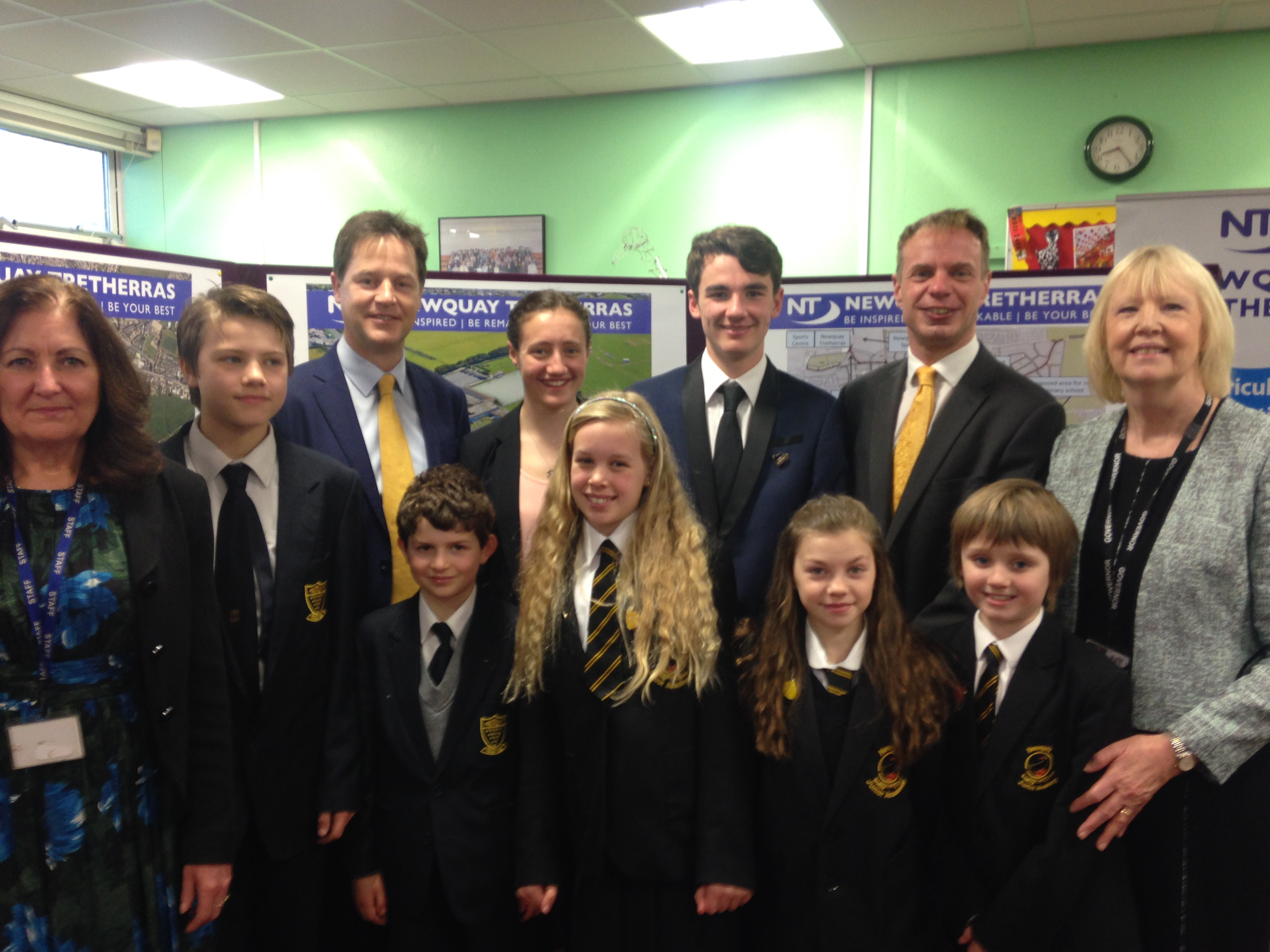 Deputy Prime Minister Announces Newquay School Rebuild Funding