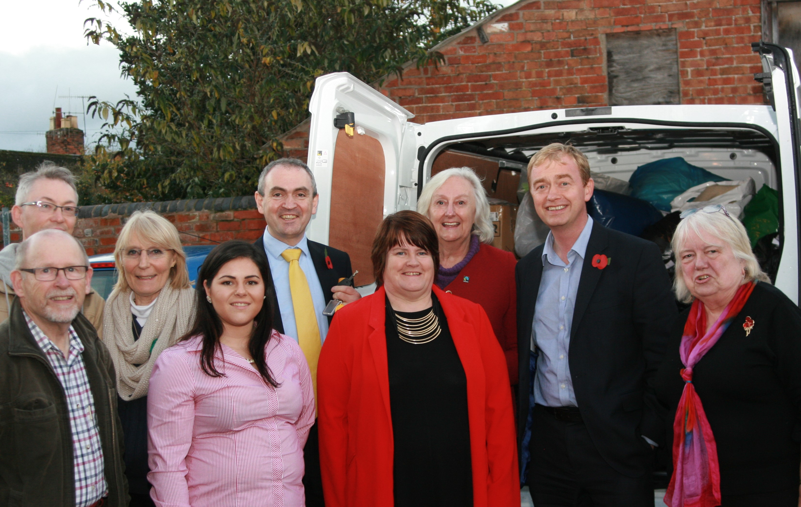 West Midlands Lib Dems supporting collection for refugee camp supplies