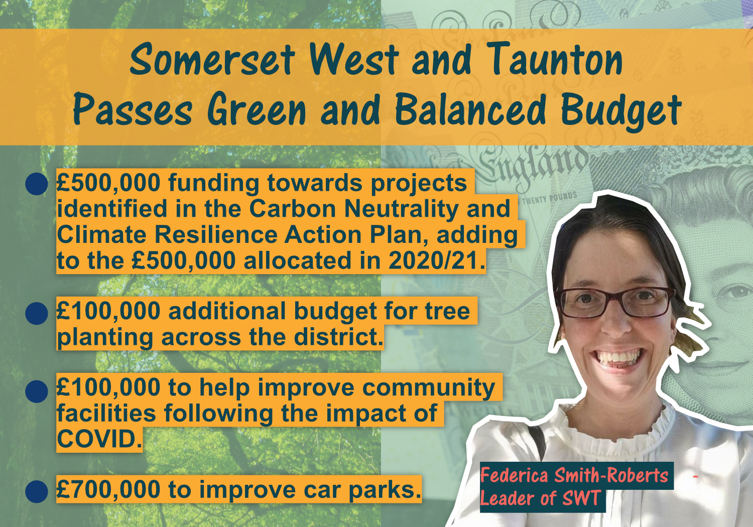 Somerset West and Taunton Council Passes Green and Balanced Budget