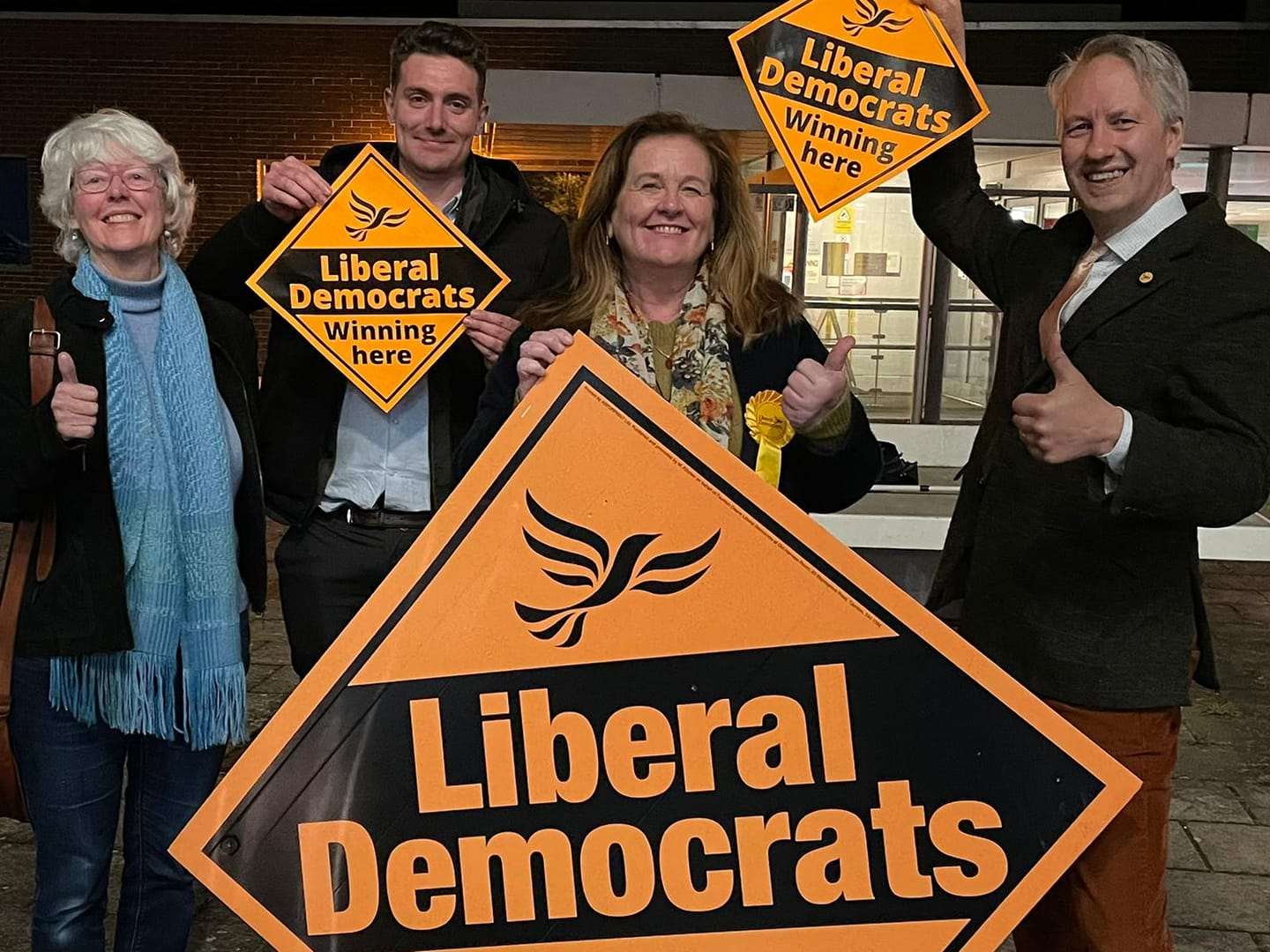 By-election Victory in Trull, Pitminster and Corfe