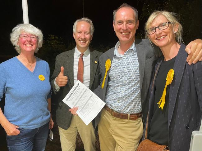 Barrie Hall Wins; Another By-election Success