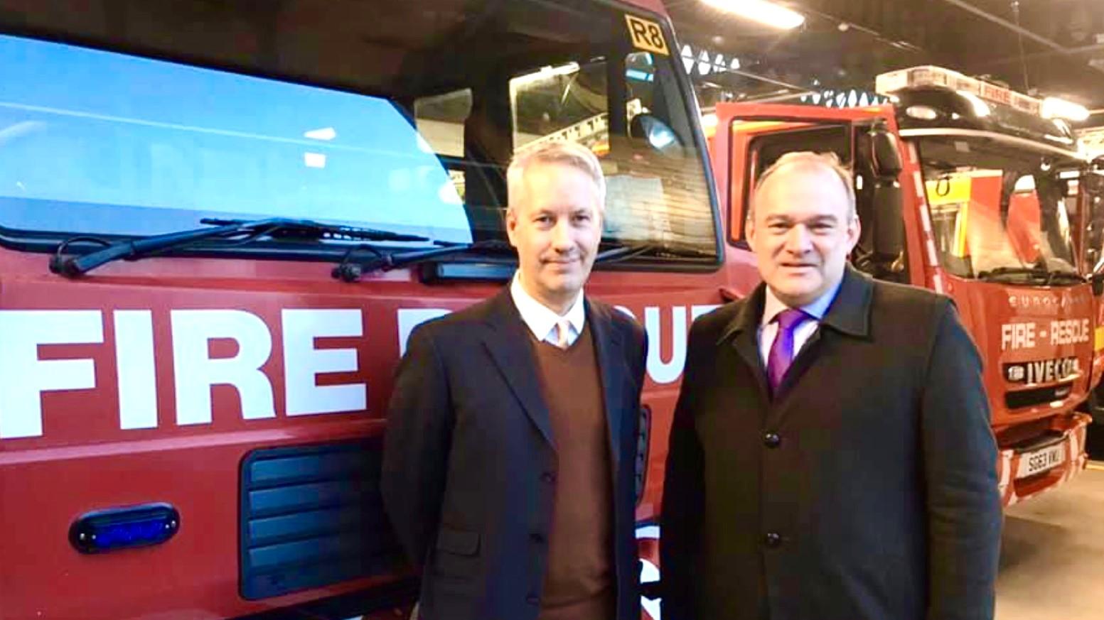 Gideon Amos Welcomes Sir Ed Davey as New Lib Dem Leader