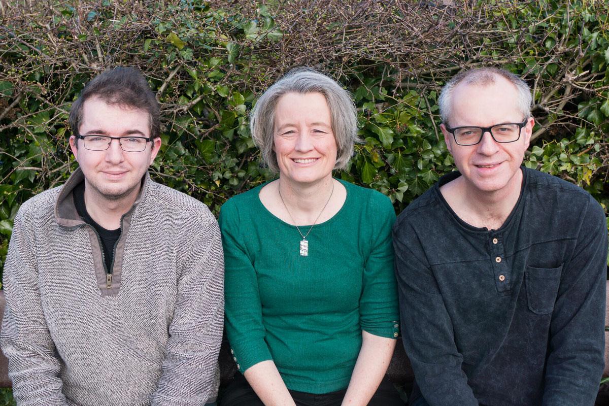 Frampton Cotterell Councillors Tristan Clark, Claire Young, & Jon Lean