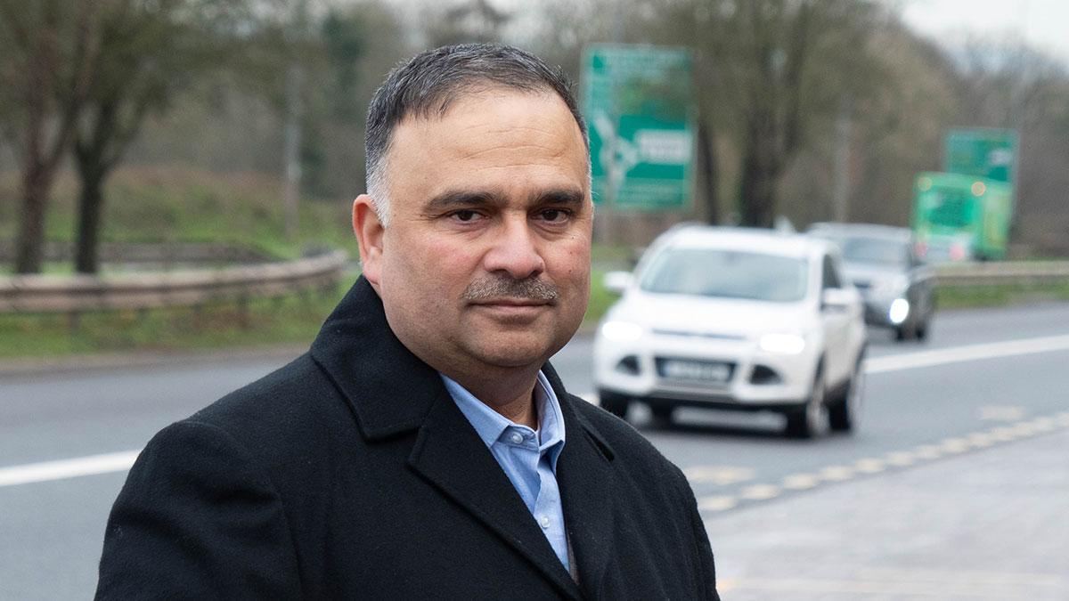Raj Sood at Bristol Ring Road