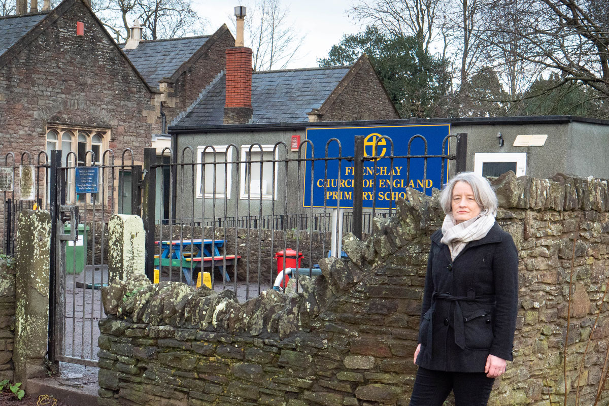 Claire Young at Frenchay Primary School