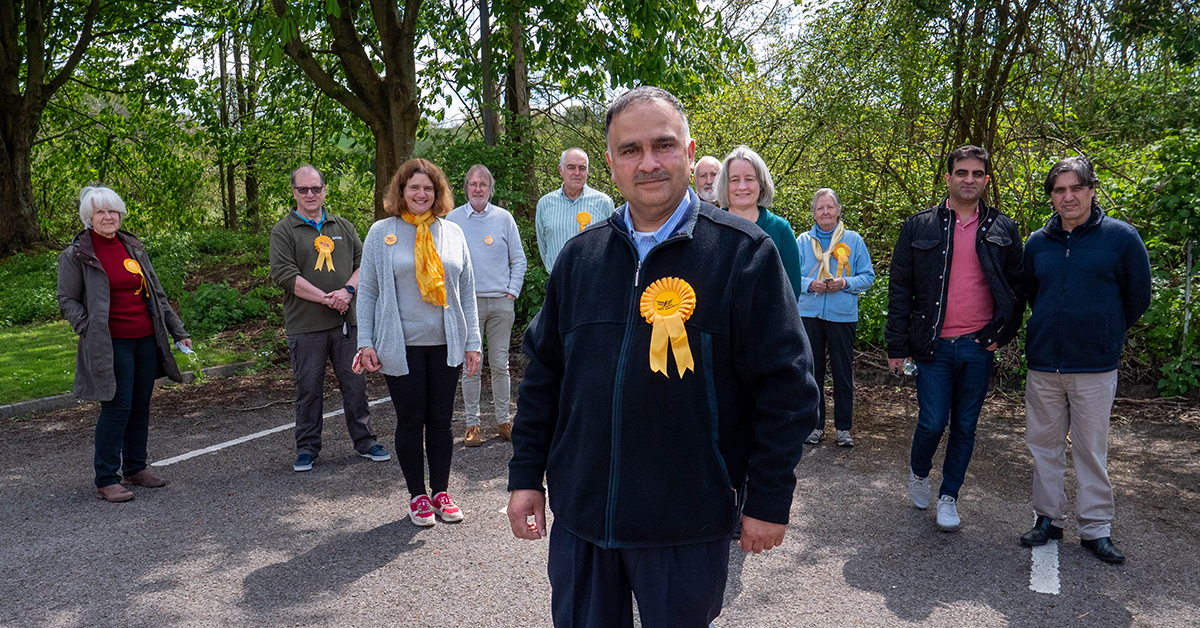 Liberal Democrats hail Frenchay and Downend surge
