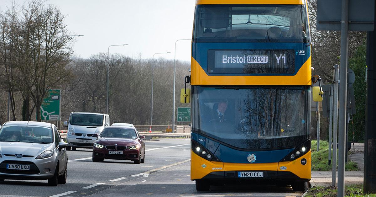 Bus to Bristol