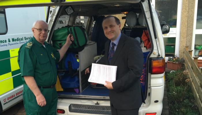 Local ambulance charity seeks new volunteers