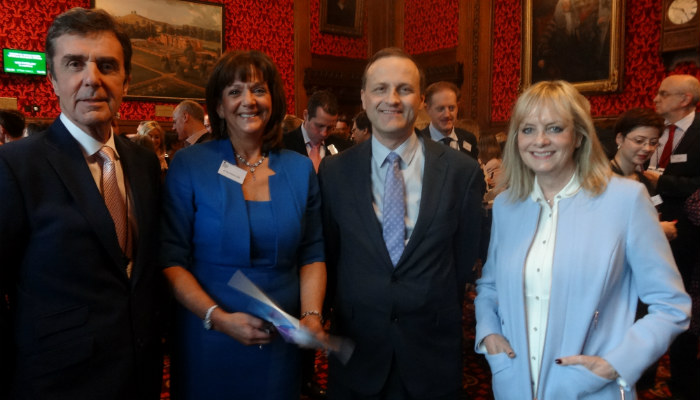 Twiggy and John Stapleton join Steve Webb to celebrate older workers