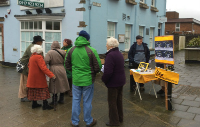 Thornbury Lib Dems talking to residents about the EU referendum