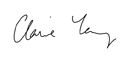 Claire Young signature