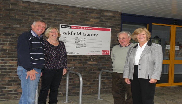 Save Larkfield Library