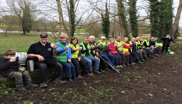 Clare Lake gets a spring clean