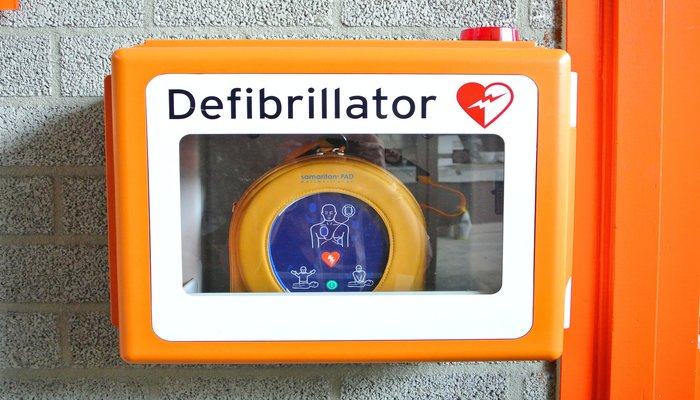 Defibrillator Now at Paydens Pharmacy Martin Sq Larkfield