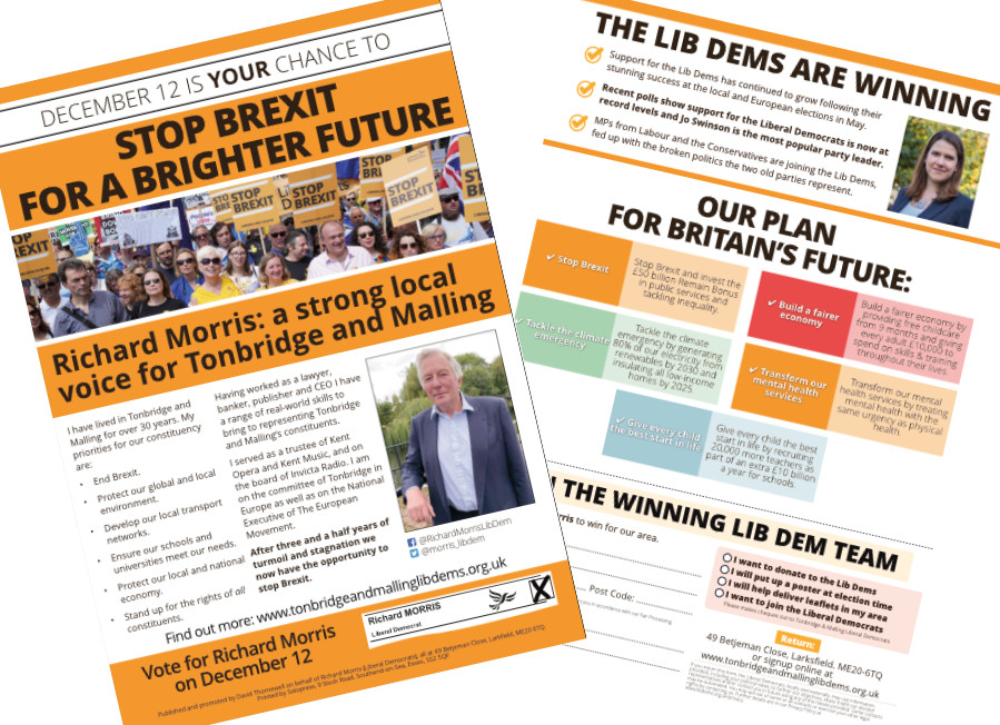 Campaign Leaflets are Coming