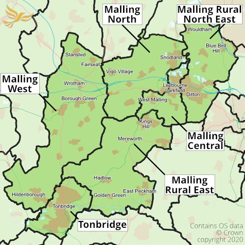 Tonbridge and Malling Divisions