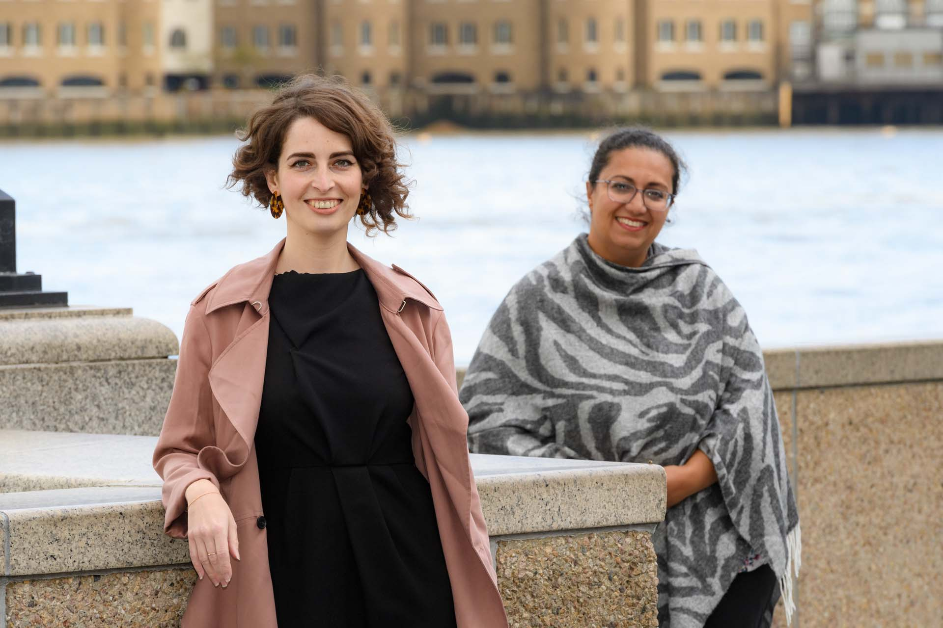Luisa Porritt and Hina Bokhari