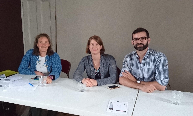 Fiona Gooch, Elaine Bagshaw, Ed Long