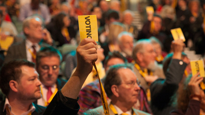 Lib Dems vote for emergency NHS funding and support for child refugees