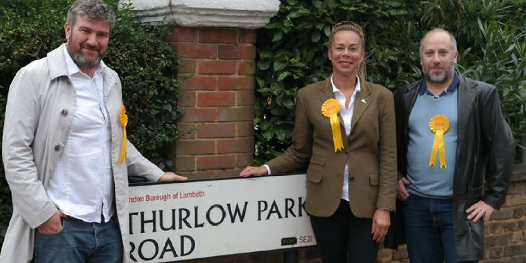 Thurlow Park candidates for Lambeth council