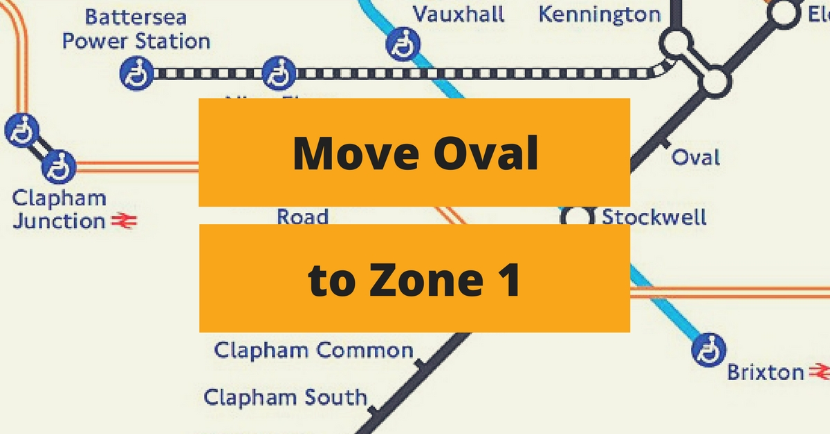 Move Oval to Zone 1