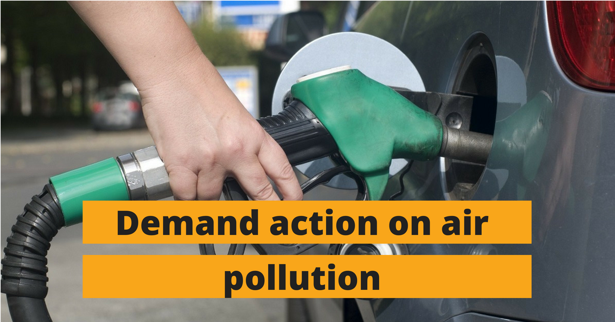 Demand action on air pollution