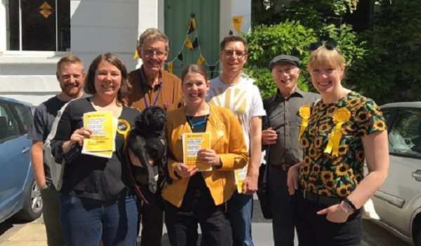 Lambeth turns yellow as Lib Dems capture one in three votes in Euro elections