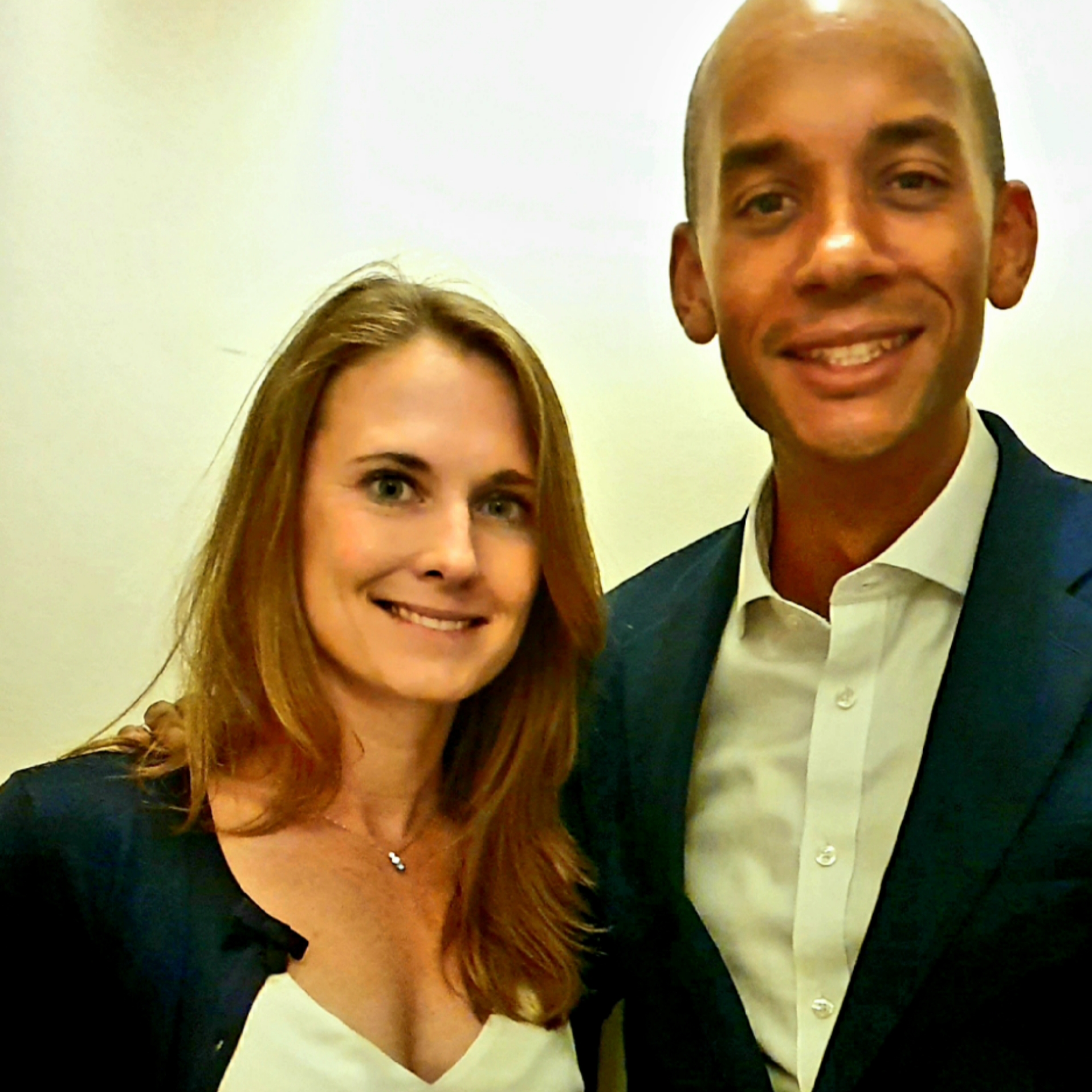 Chuka Umunna MP with Helen Thompson