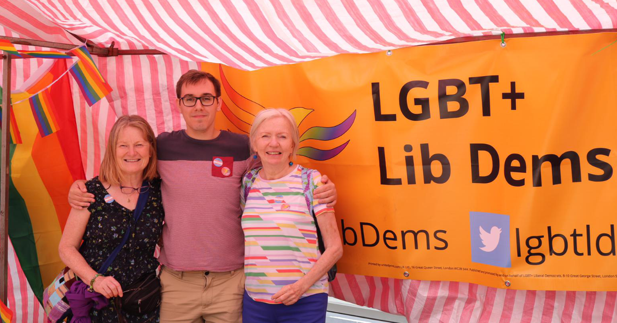 Lib Dem Urges MP to back ban on LGBTQ+ Conversion Therapy