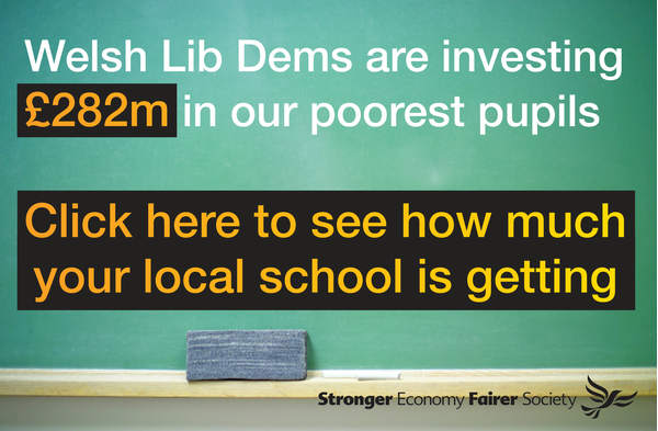 We're investing £282m in our poorest pupils ()