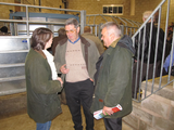 Kirsty Williams and Wyn Williams discuss farming issues