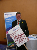Peter Black supporting the rule out abuse campaign